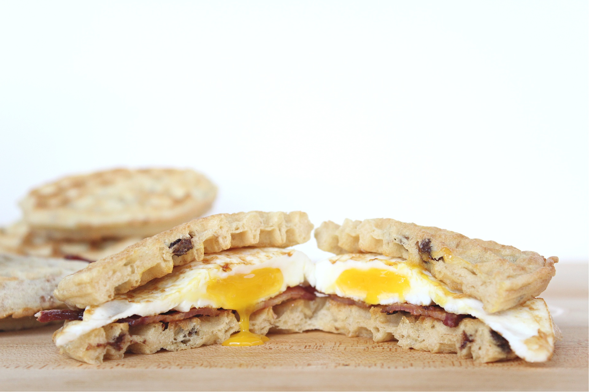 Easy Waffle Breakfast Sandwiches