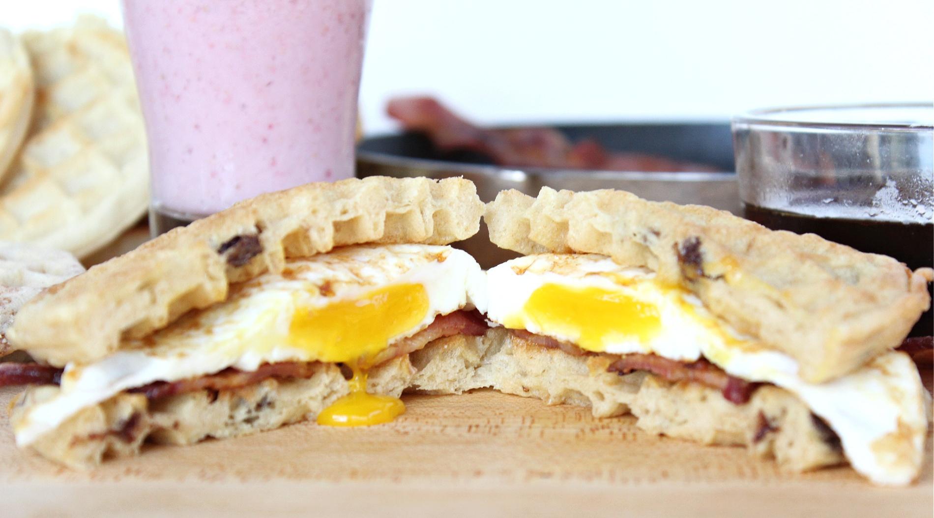 Best Eggo Waffle Breakfast Sandwiches