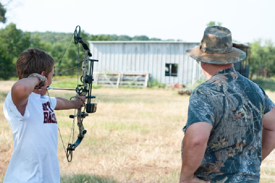 Where kids can do archery in Florida