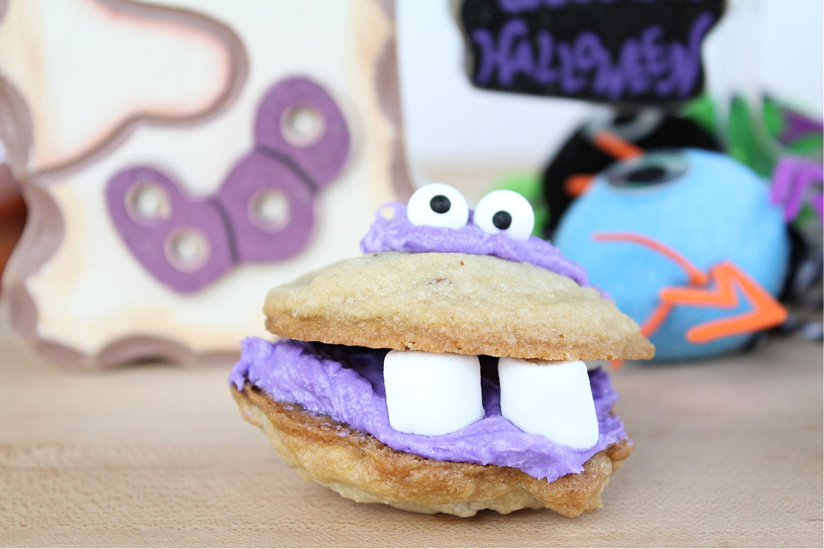 Best Halloween Monster cookies