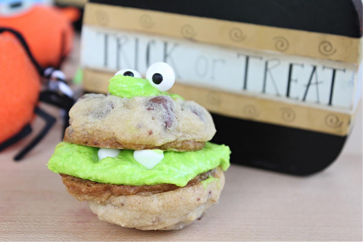 Easy Halloween Monster cookies