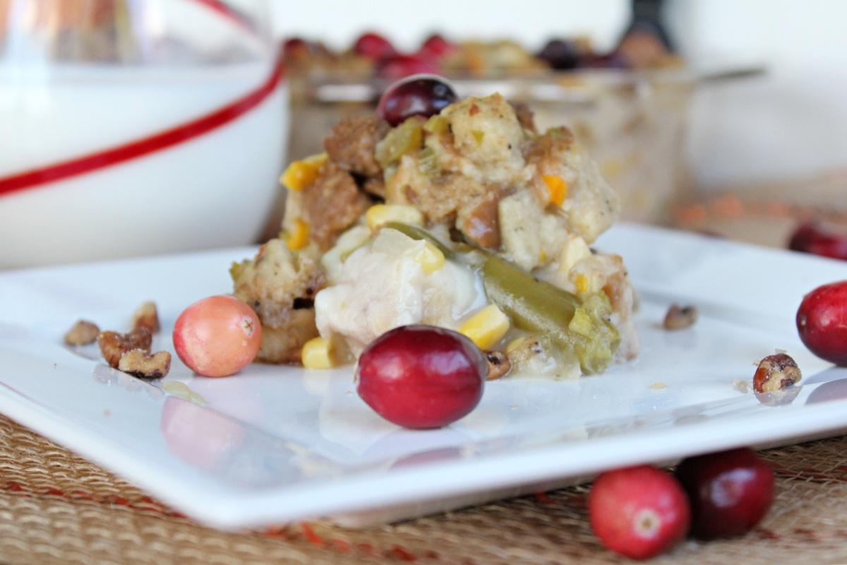 Tasty Thanksgiving Leftover Casserole