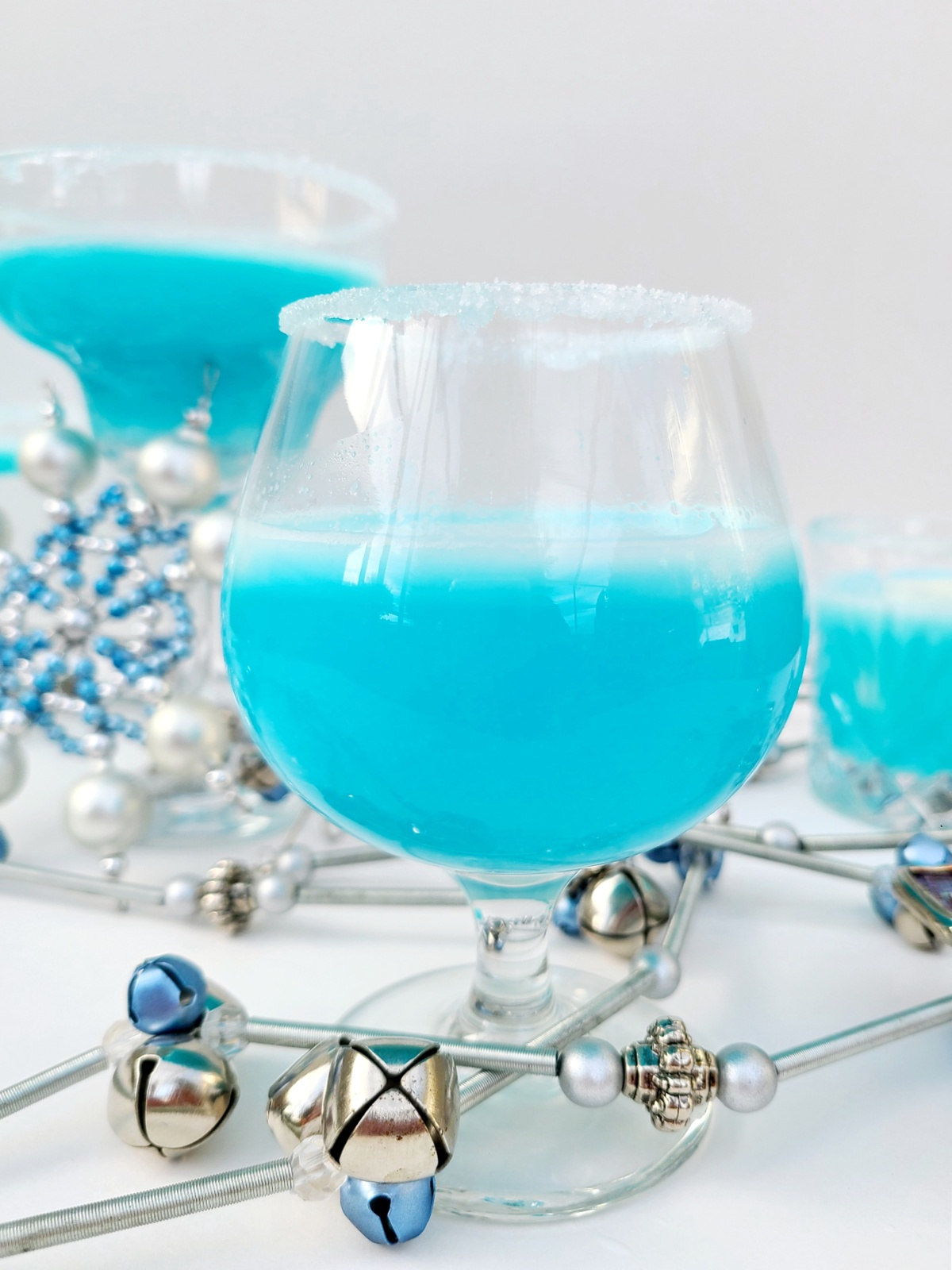 Tasty Frosted Snowflake Cocktail