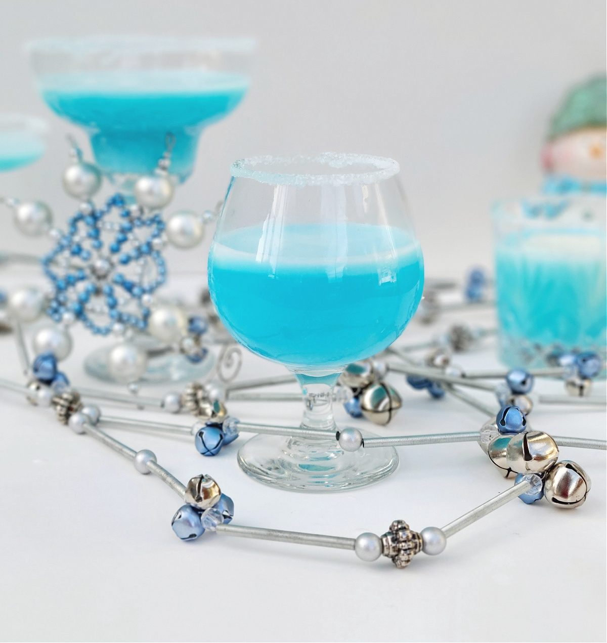 Florida Snowflake Blue Cocktail