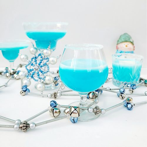 Frosty Snowflake Cocktail Group