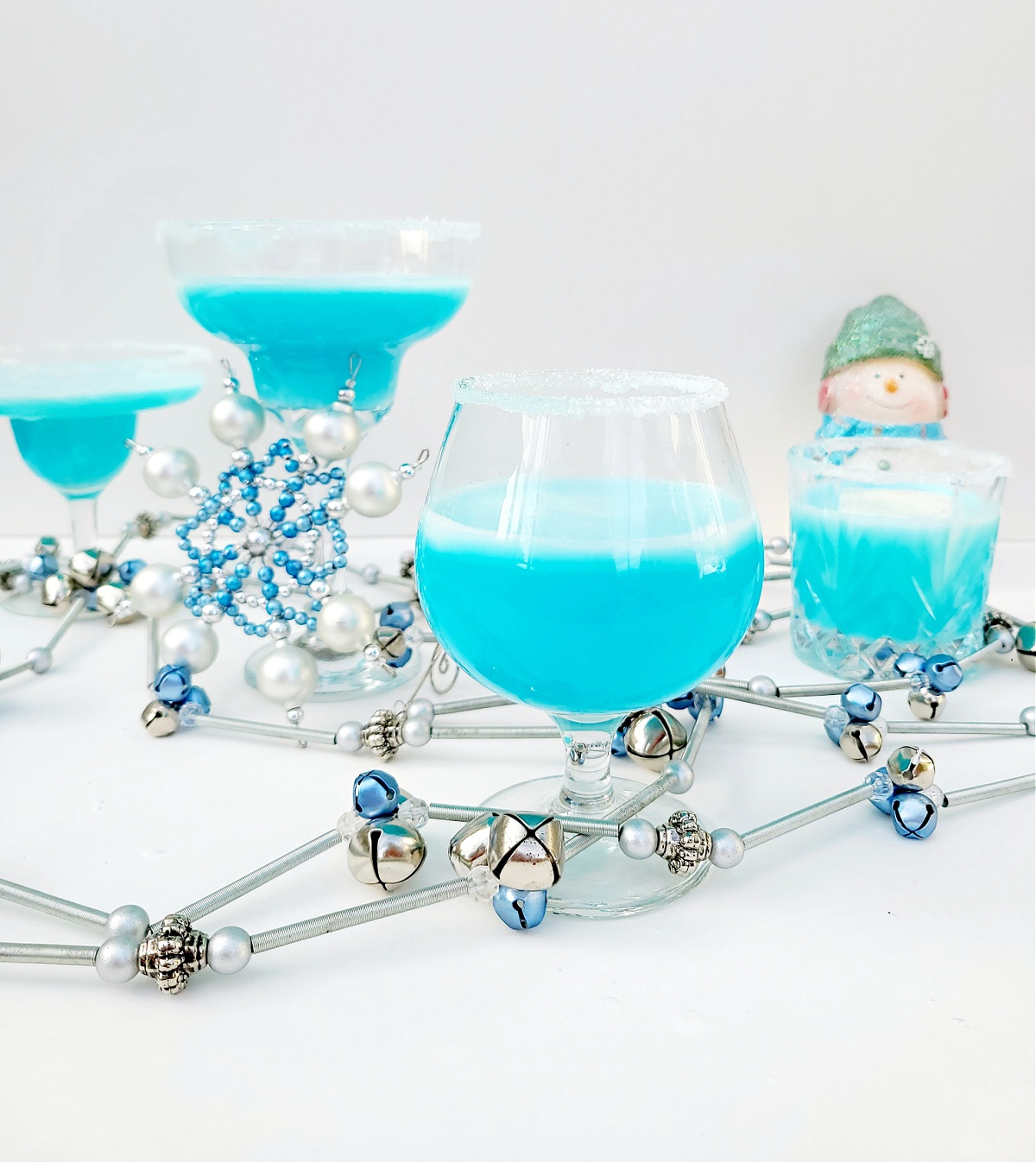 Frozen Snowflake Cocktail