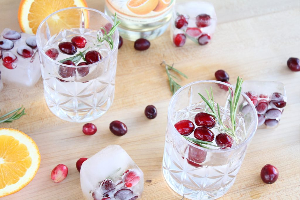 21seeds tequila with infused ice cubes