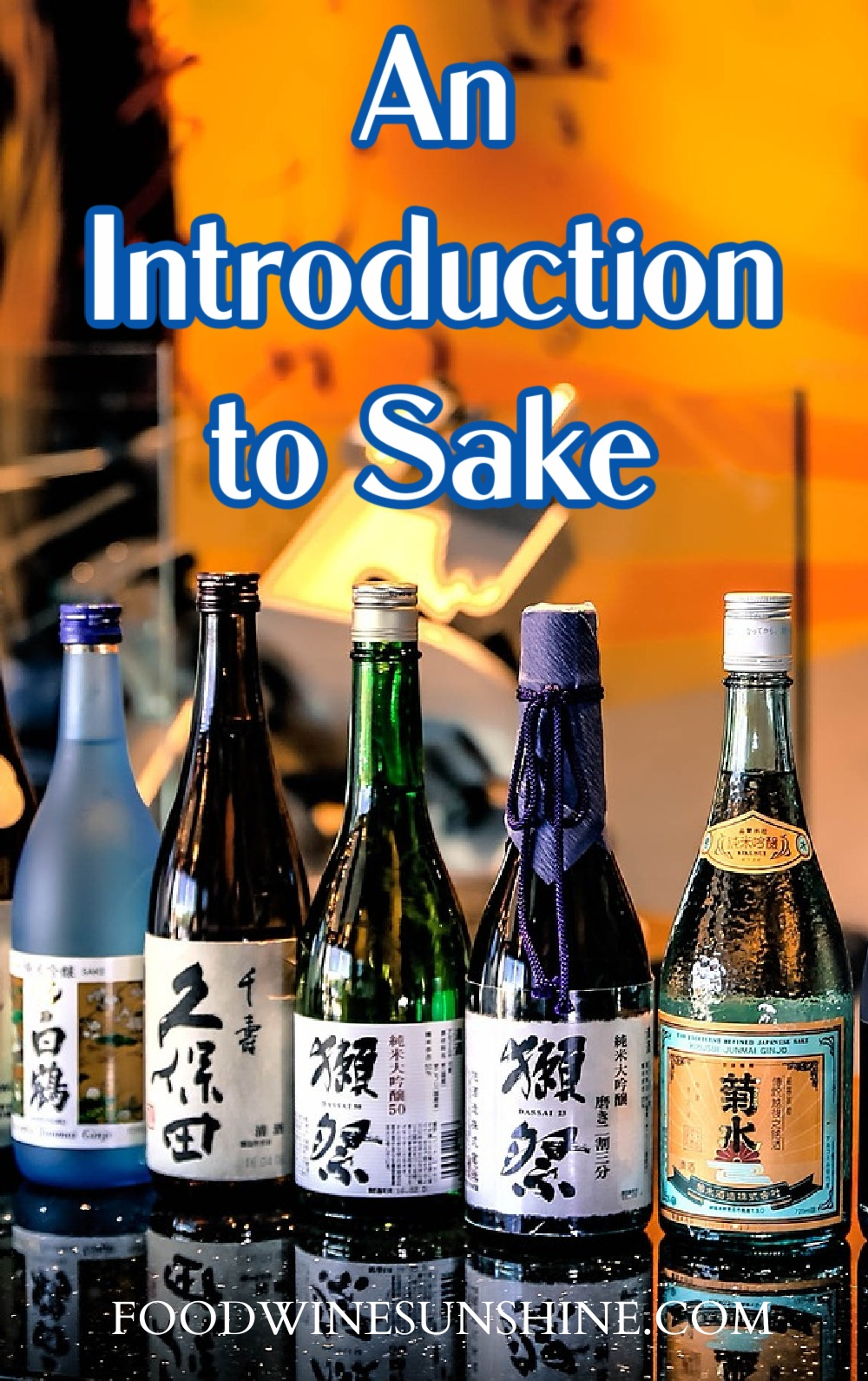 Learn about sake