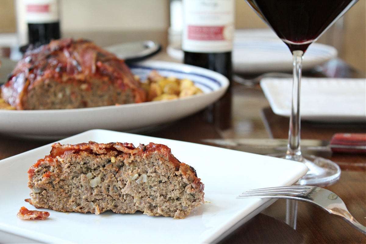 Tasty Bacon Wrapped Meatloaf