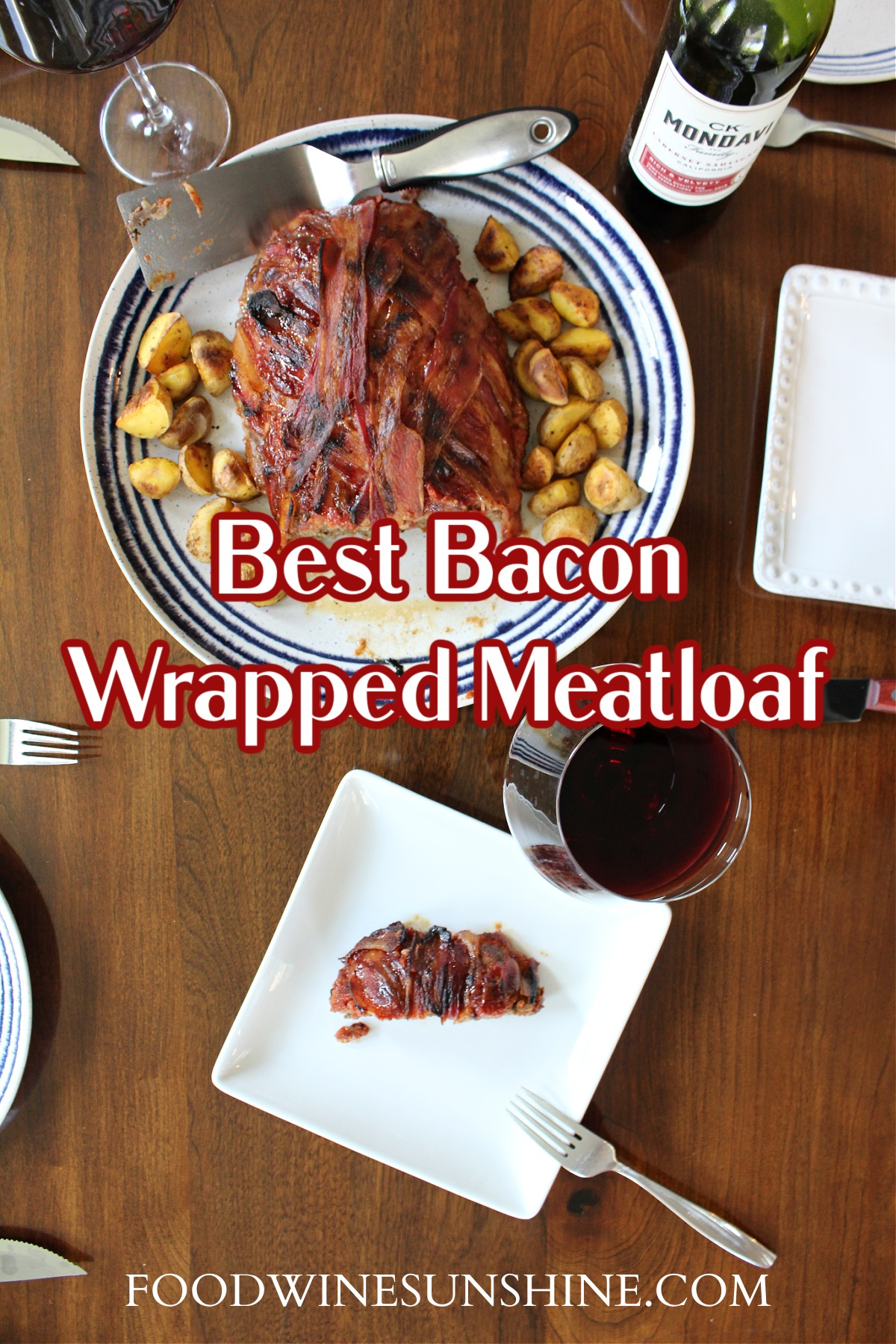 Best Bacon Wrapped Meatloaf
