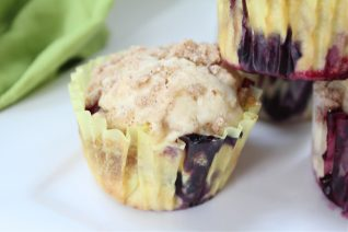Homemade Blueberry Muffins