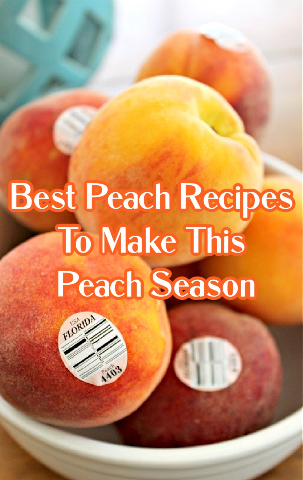 Best Florida Peach Recipes To Make This Florida Peach Season