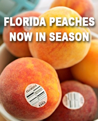 Florida Peaches In Season
