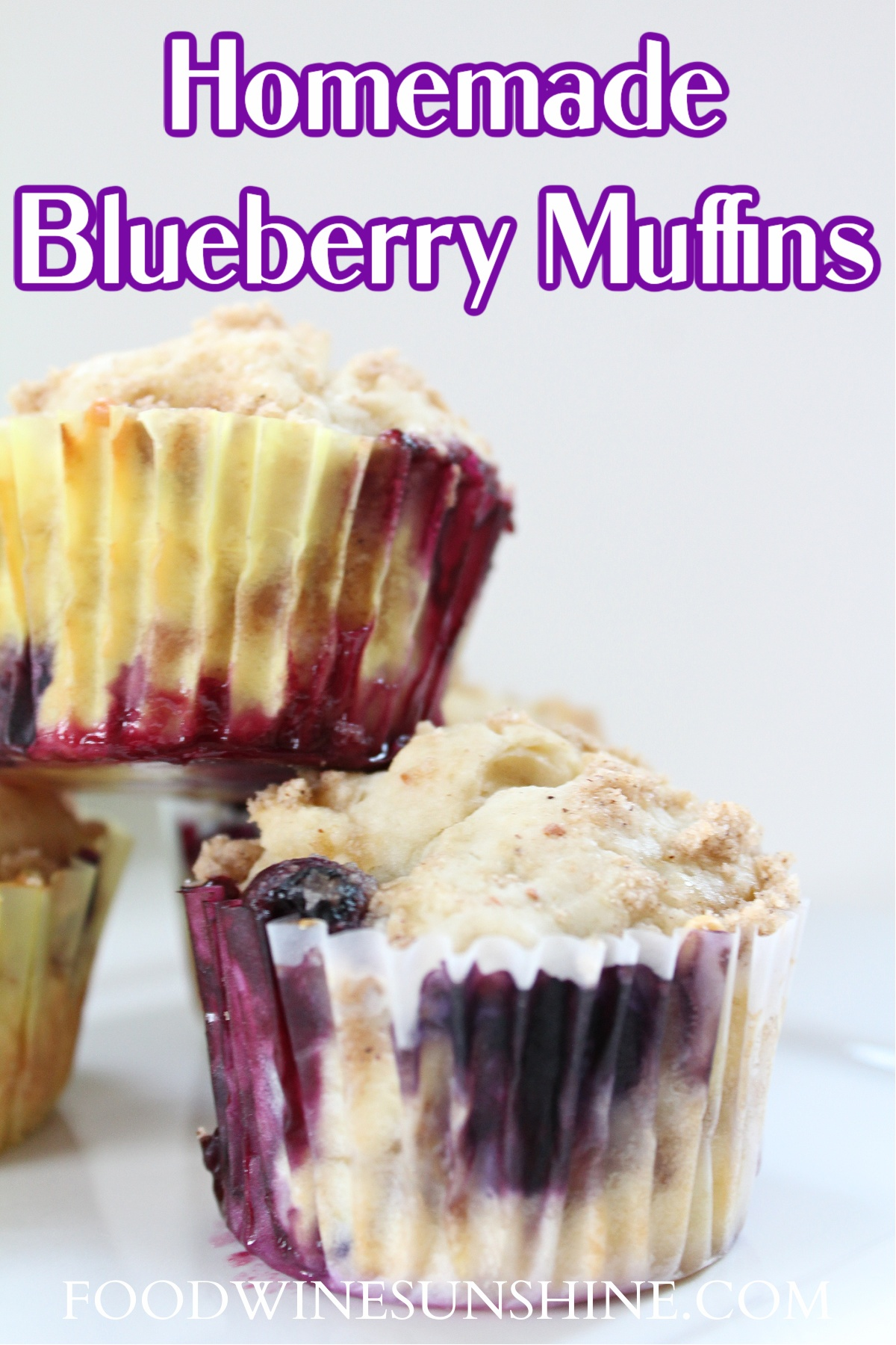 Best Homemade Healthy Blueberry Muffins