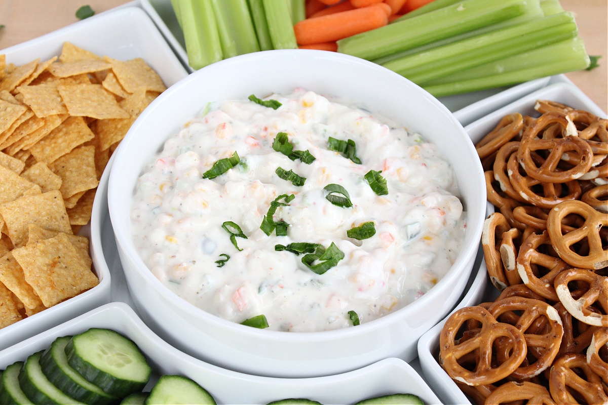 Easy Weight Watchers Ranch Dip