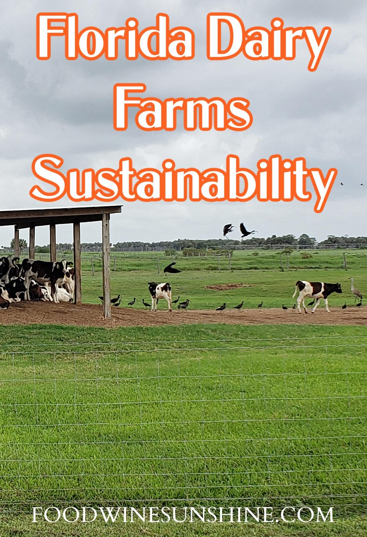 Florida Dairy Farm Sustainability
