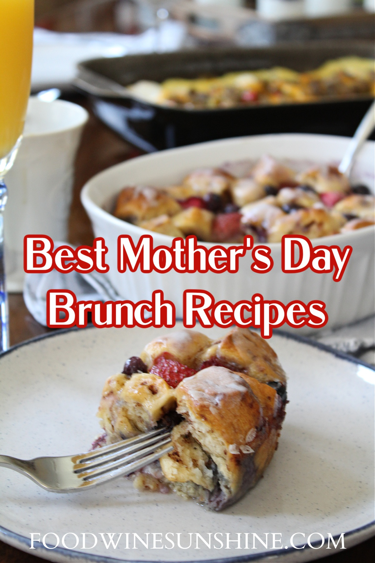 best mothers day brunch recipes