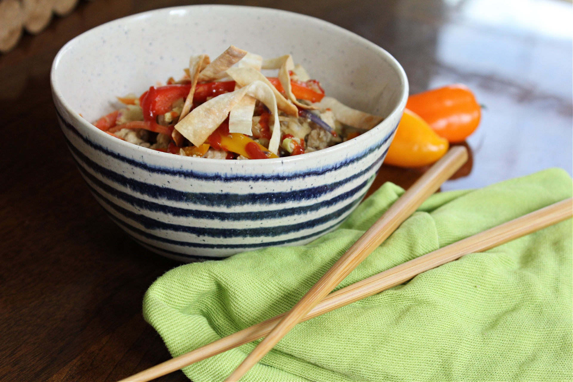 Low Fat Egg Roll In A Bowl