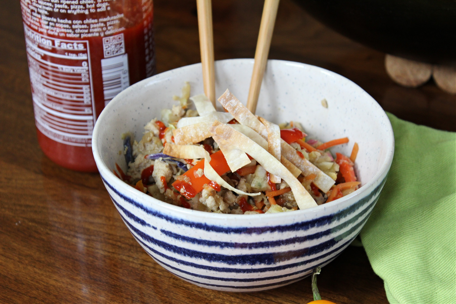 Weight Watchers Inside Out Egg Roll In A Bowl Recipe