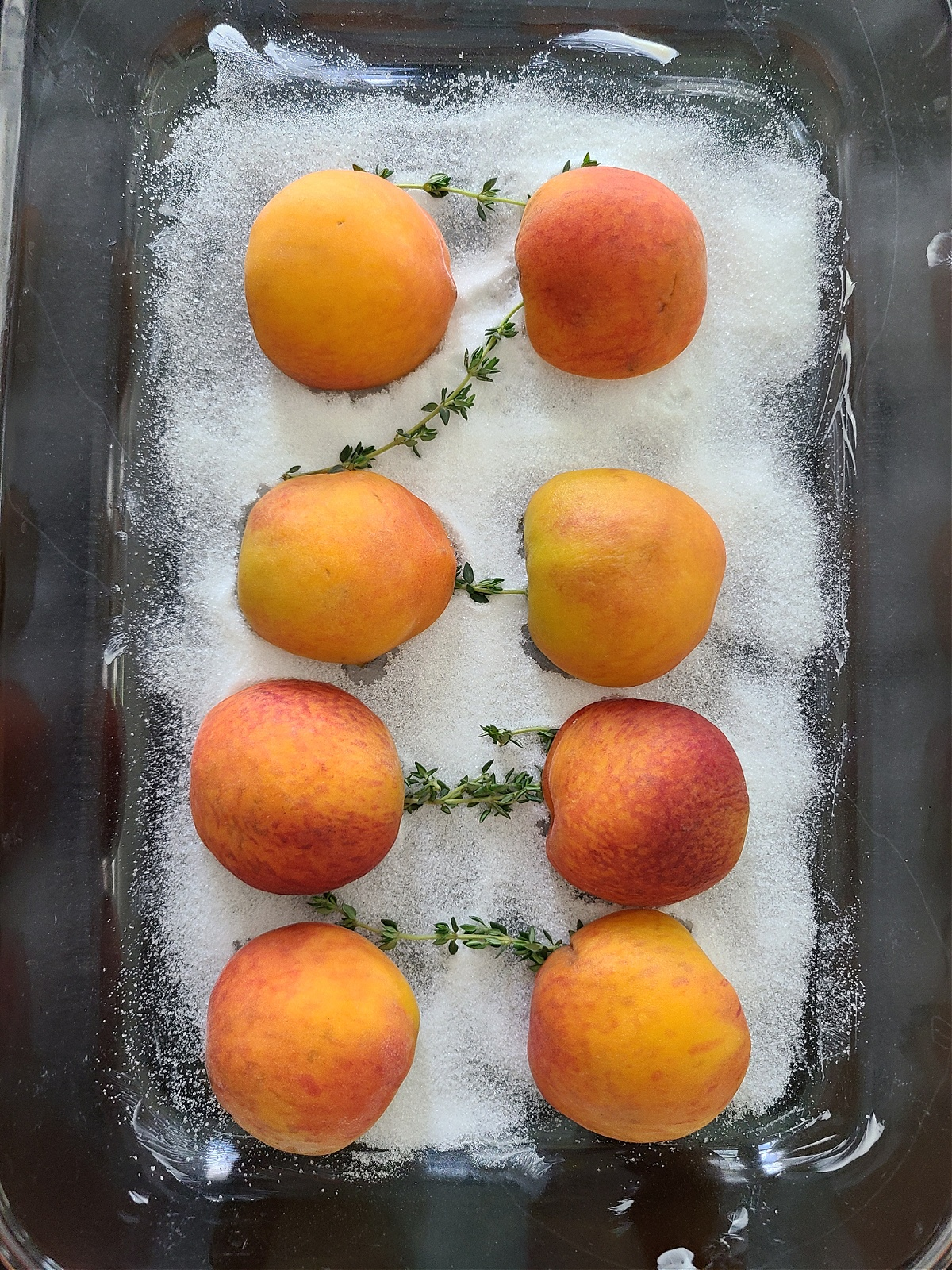Easy Oven Roasted Peaches Red Wine Dessert