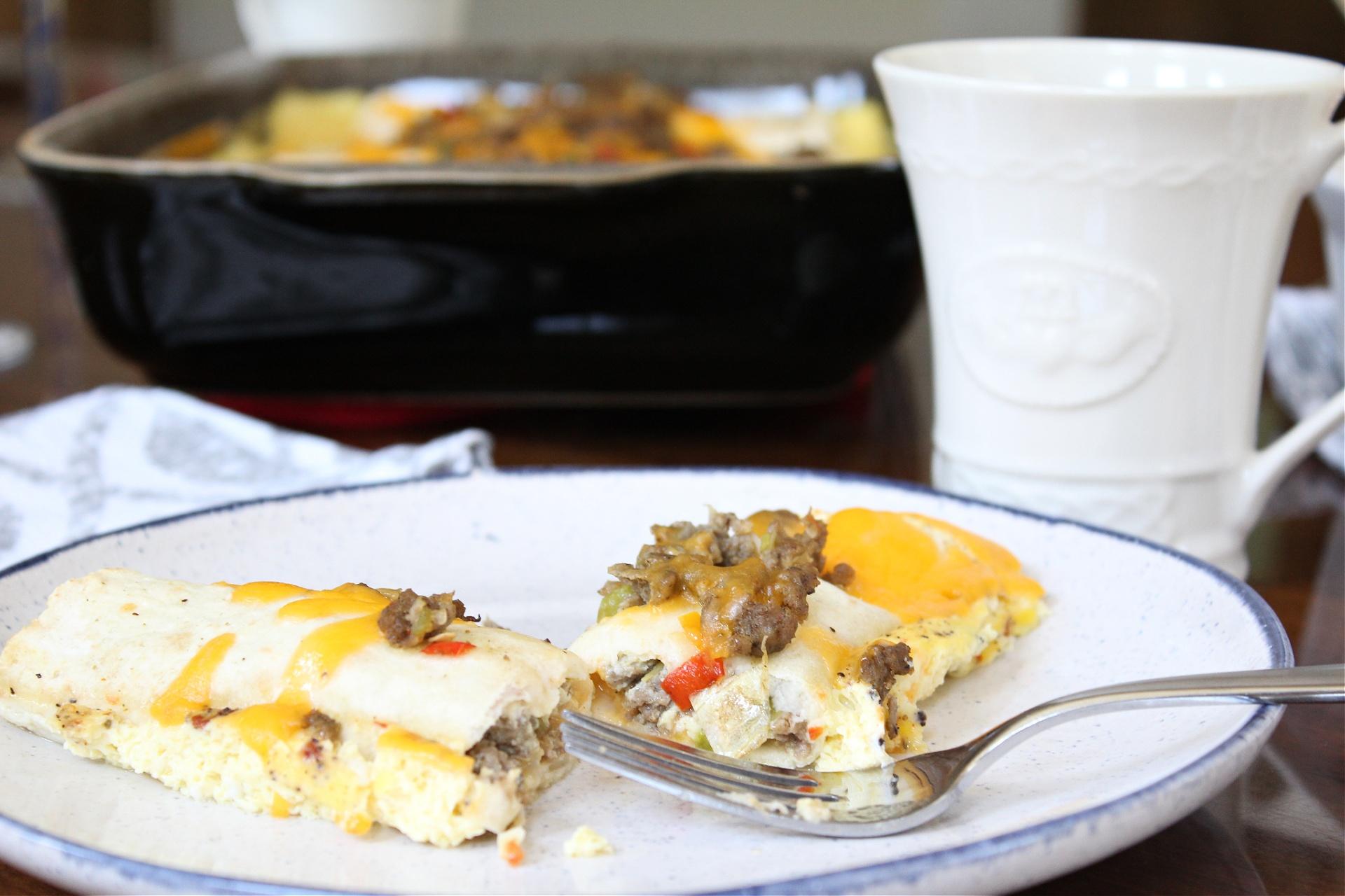 mothers day brunch Overnight Breakfast Enchiladas