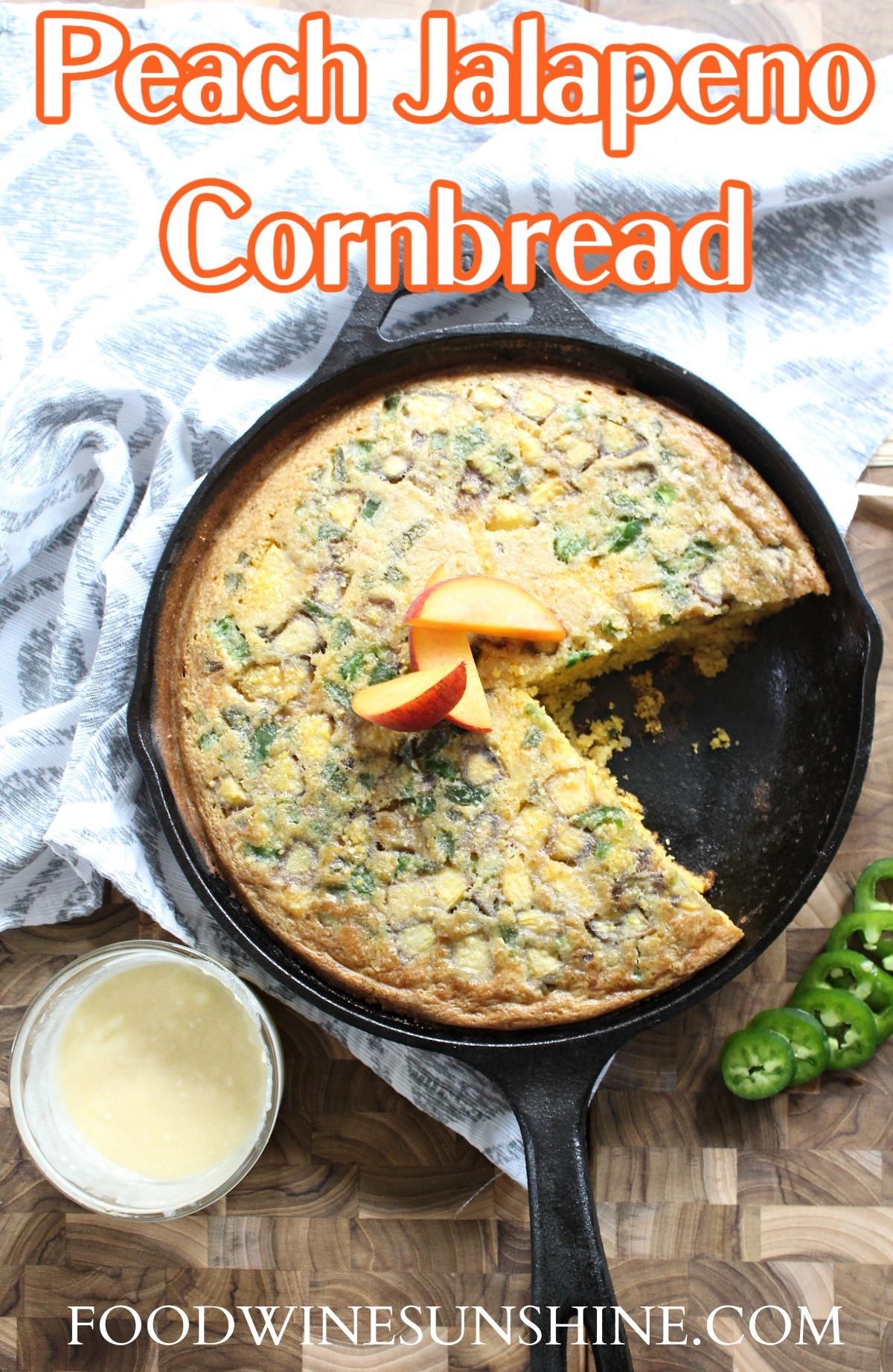 How to make the best Peach Jalapeno Cornbread