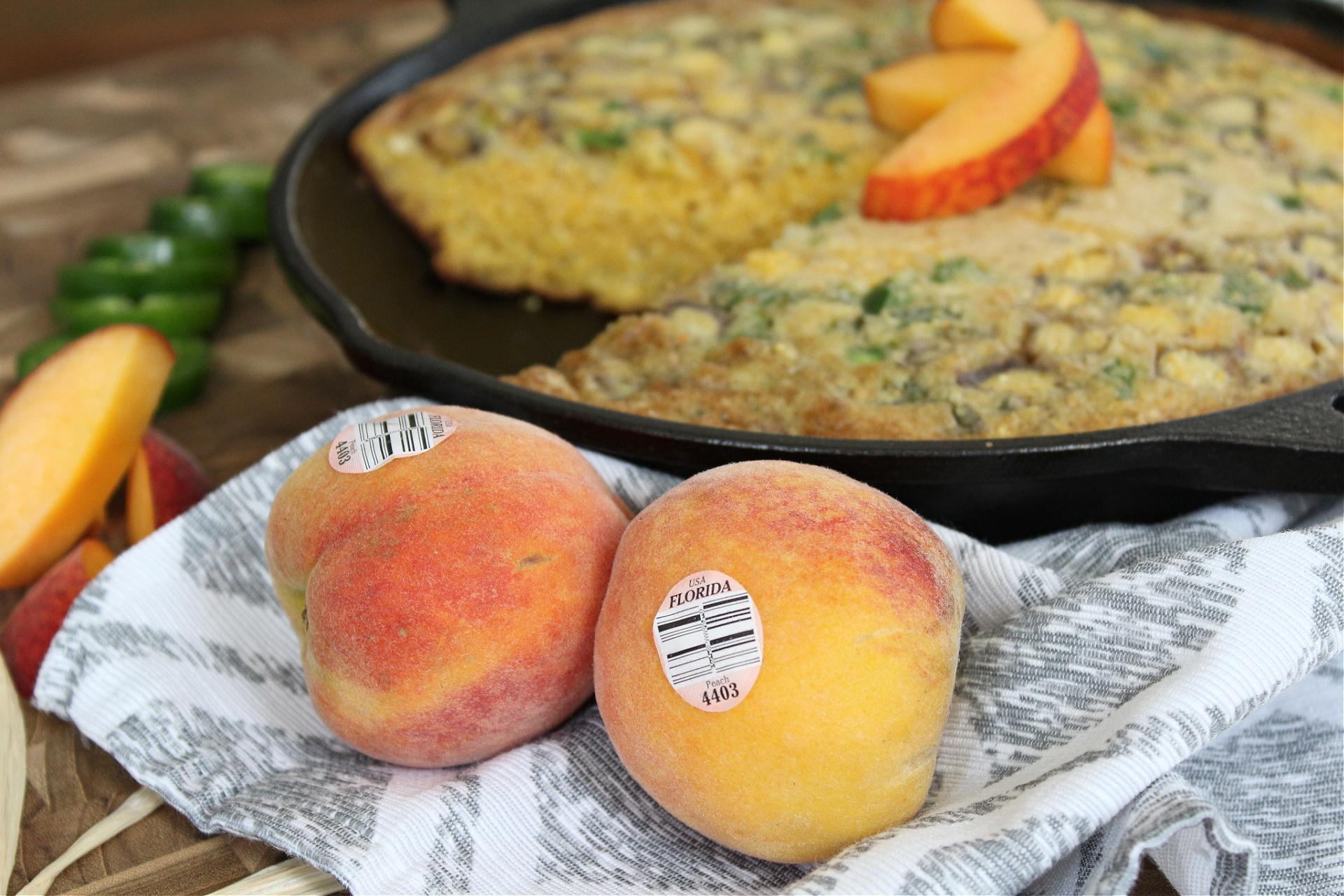 Jalapeno Peach Cornbread