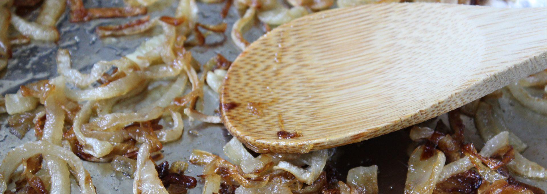 caramelize onions
