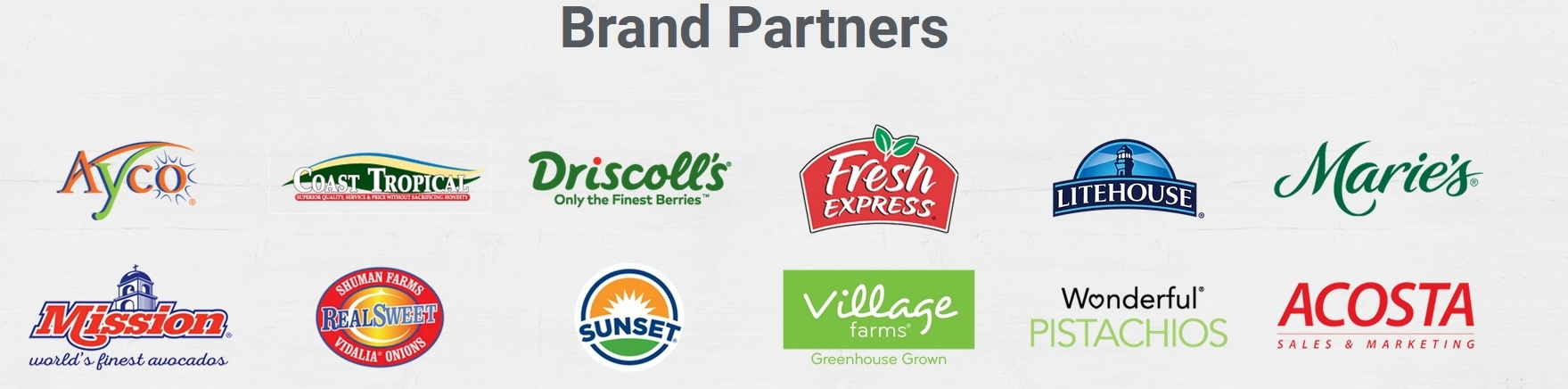 Healthy Family Project Brand Sponsors
