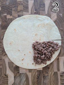 Tik Tok Tortilla Wrap Instructions