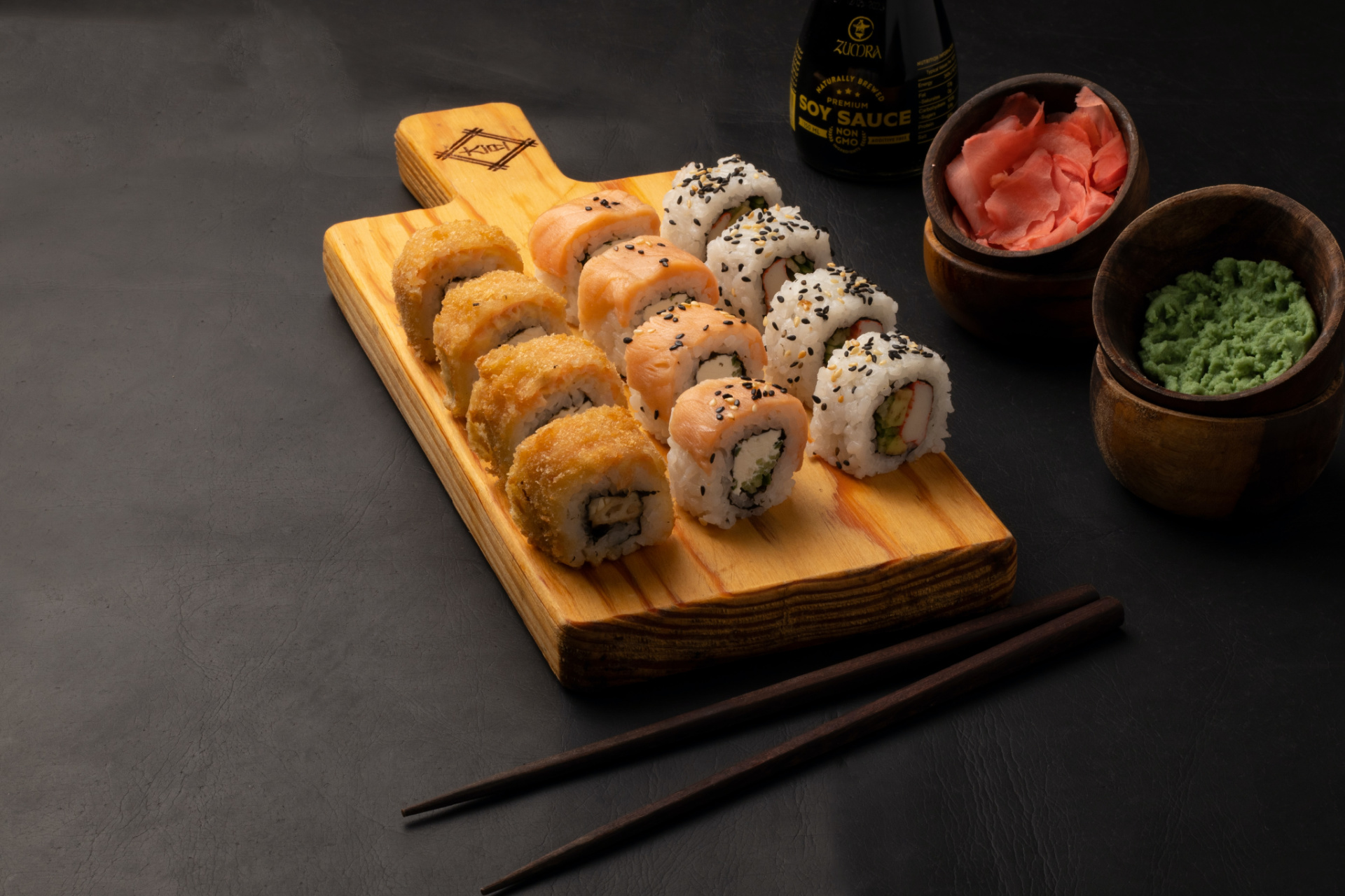 What are the Different types of sushi