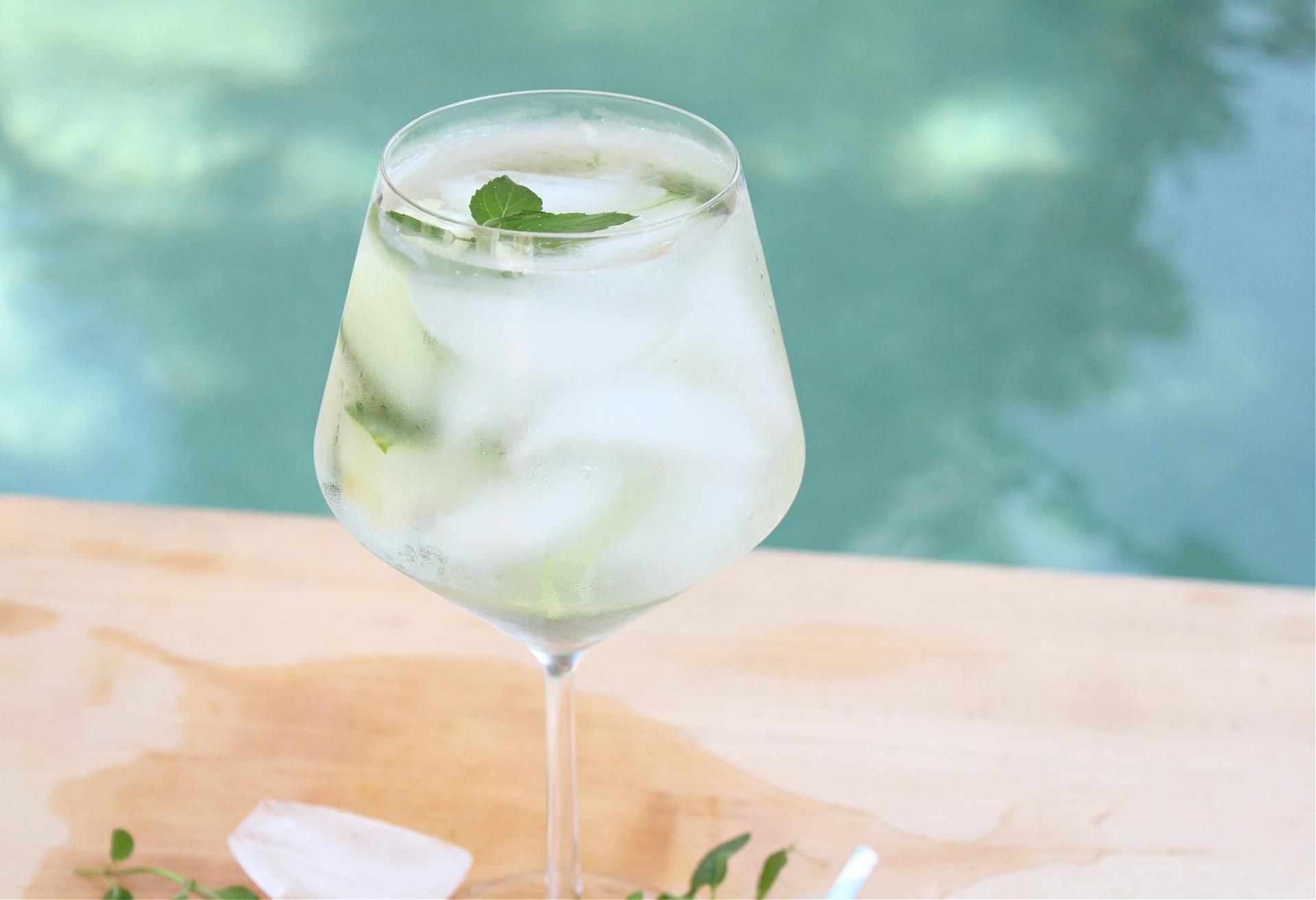 Easy Cucumber Mint Vodka Cocktail