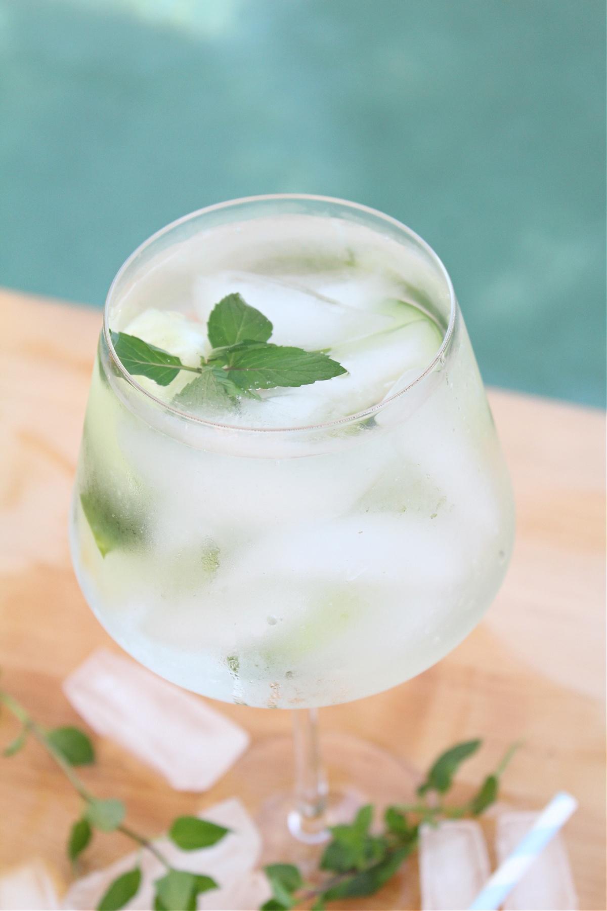 Tasty Cucumber Mint Cocktail