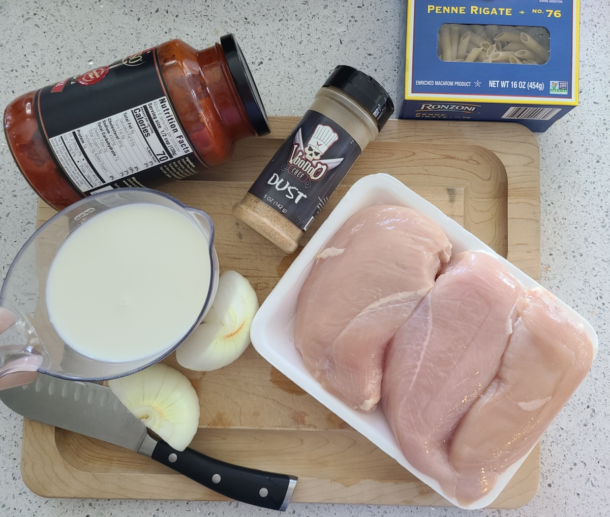 How to make slow cooker creamy chicken pasta