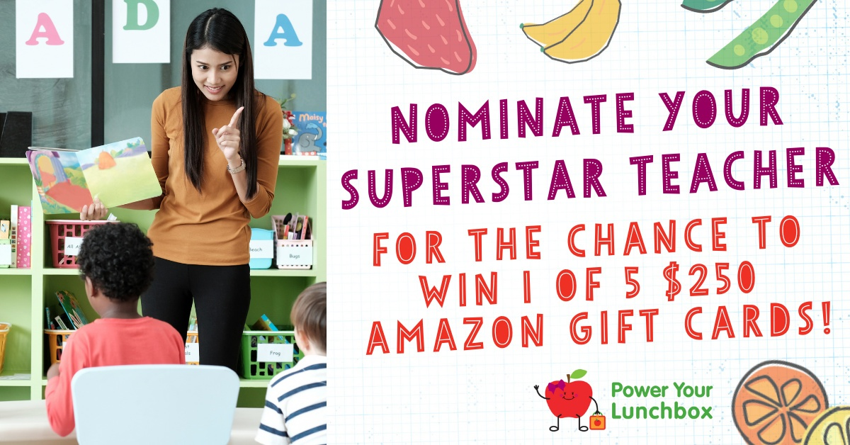 Power Your Lunchbox Sweepstakes