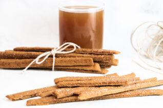 Apple Cider Gingerbread Sticks