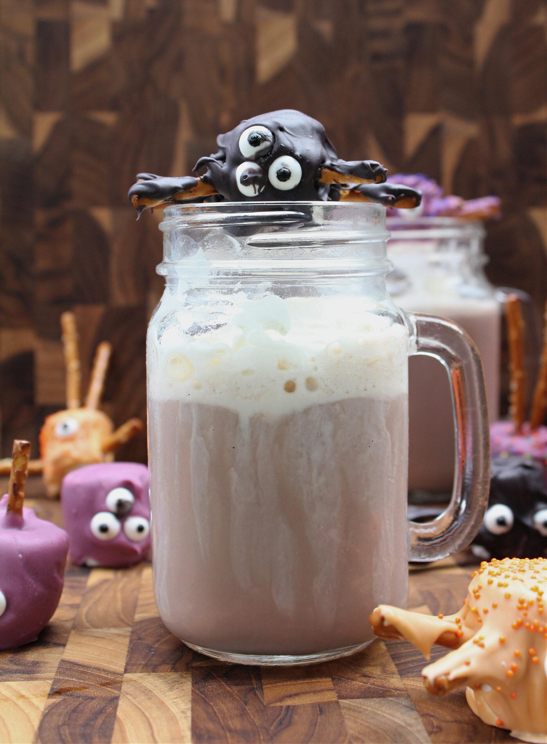 hot chocolate made with chocolate milk