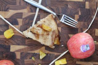 Pineapple Apple Skillet Pancake