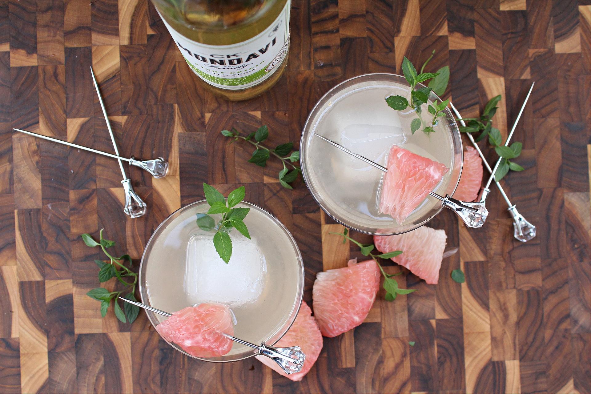 Pink Diamond Vodka Cocktail