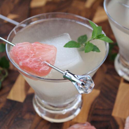 Pummelo Diamond Martini