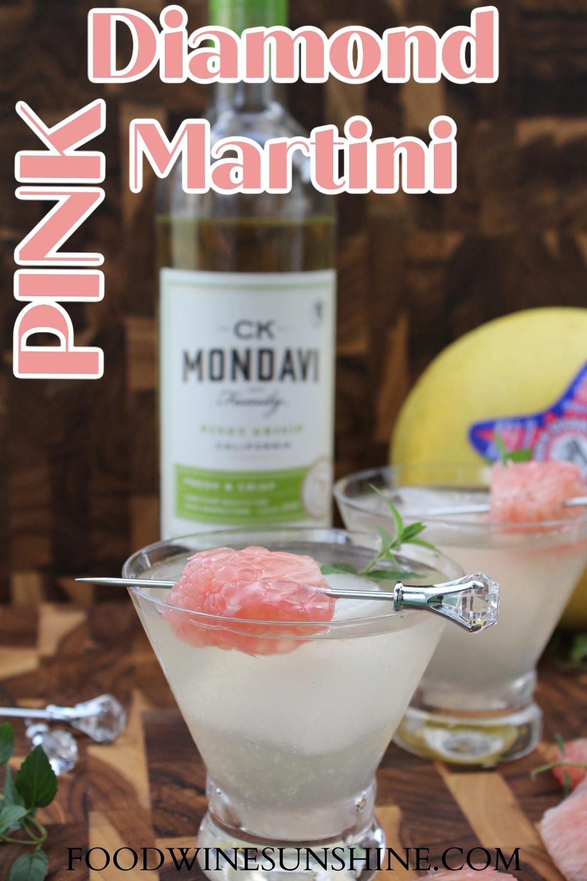 Pink Diamond Martini